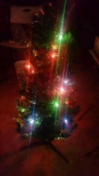 Christmas Tree with lights attached to tree!  Greensboro, 27407