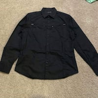 black button-up long-sleeved shirt Silver Spring, 20907