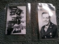 2 Monuments Men post cards with autograph of one of the soldiers Edgewood, 21040