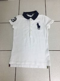 RALPH LAUREN SPORT WHITE & NAVY SKINNY FIT BIG PONY POLO SHIRT SIZE XS Vancouver, V5S 2Z4