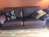 brown leather 2-seat sofa Longueuil, J4J 4H3