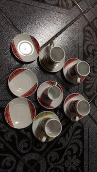 13 pc set of decoration tea dishes