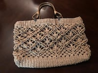 white and black knitted handbag Washington, 20024