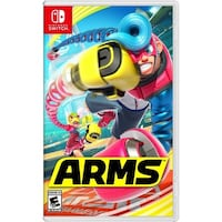 Arms Nintendo switch  Willing to trade payday 2 and nba2k18 for this game Sherwood Park, T8A 3N4