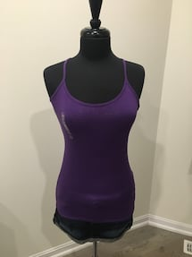 Brand new purple tank size M