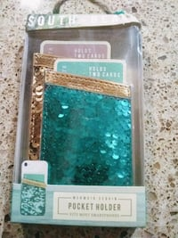 Mermaid sequin pocketholder for iphones Eugene, 97402