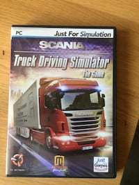 Jeu pc scania simulator Auvers-Saint-Georges, 91580