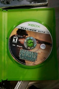 MEDAL OF HONOR XBOX 782 km