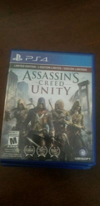 Assassin's Creed Unity PS4 game case Calgary, T3A 0E2