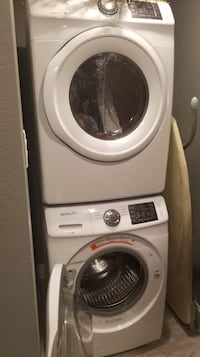 White samsung front-load clothes washer Arlington, 76017
