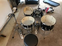 Pearl roadshow 4 piece drum set Round Hill, 20141