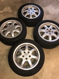 """16"""" Rims with tire set of 4 Chicago, 60707"""