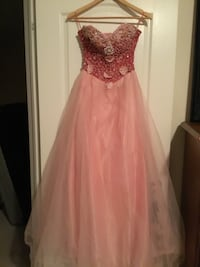 Pink party gown, scroll down for more pictures Brampton, L6Z 0B4