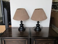 2 Matching Table Lamps Burlington