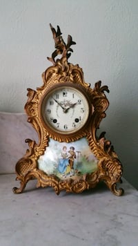 Beautiful Working Antique French Table Clock  Perrysburg, 43551
