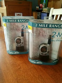 2 way Radio's new never used price for both Little Falls, 07424