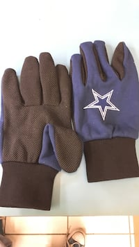 Pair of blue-and-black gloves McAllen, 78501
