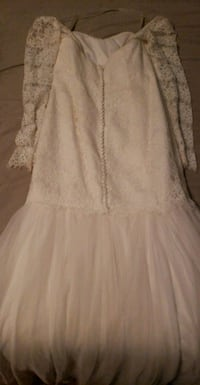women's white wedding dress Lubbock, 79412