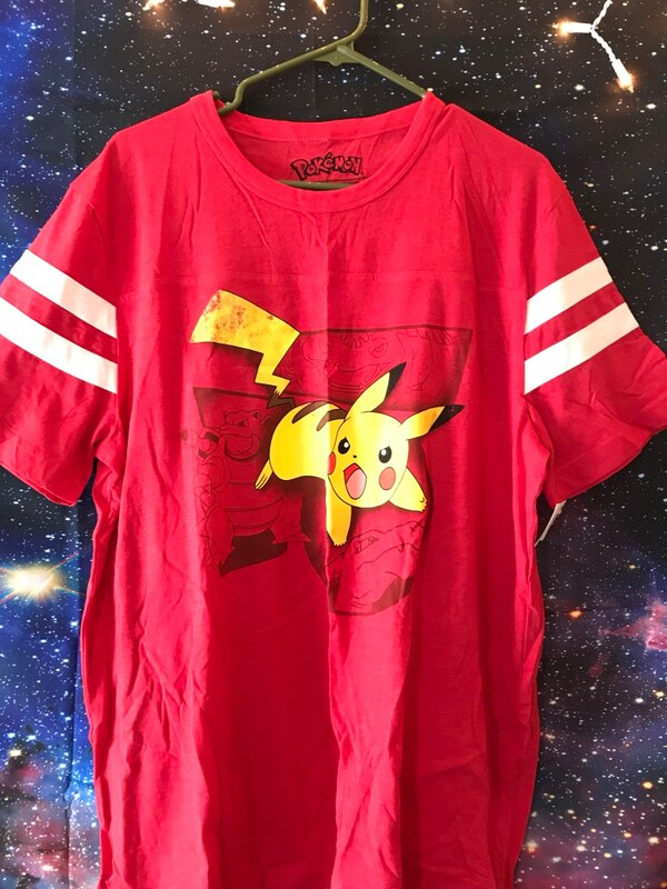 5b8f7a41 Used *NEW* Red pokemon T-shirt for sale in Gardner - letgo