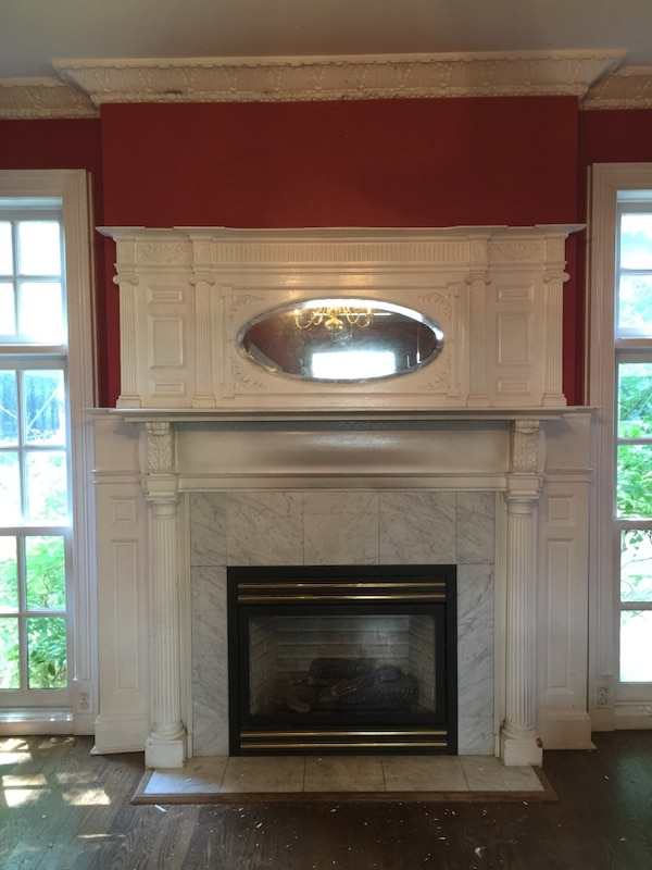 Used Fireplace Mantle Mirror For In Westwood