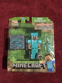 Great stocking stuffers! Minecraft toy and Brain Quest for 3rd graders Falls Church, 22043