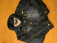 blue denim button-up jacket Annandale, 22003