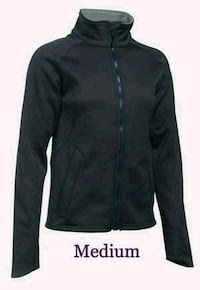 New Women's Under Armour Tac Softshell Jacket, Navy Blue Lake Forest