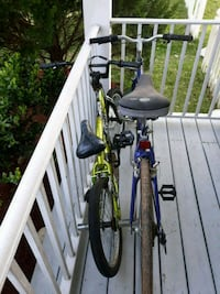 black and yellow hardtail mountain bike Gainesville, 20155