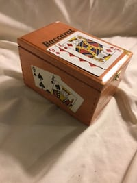 Gift idea - wood cigar box card holder Tulsa, OK, USA