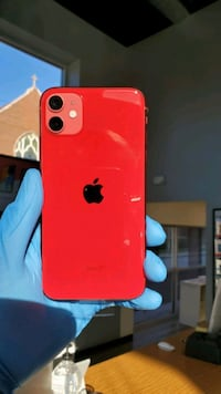 iPhone 11 Red 64GB Unlocked- $50 Down