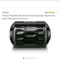 Phillips portable speaker  Woodbridge, 22191