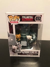 Alphonse Elric with Kittens Hot Topic Exclusive Funko Pop 548 km