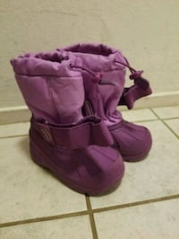 Thermolite girls snow boots size 7/8 Foster City, 94404
