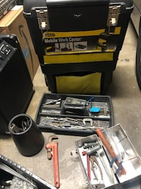 Stanley mobile toolbox with tools , misc Anaheim, 92802