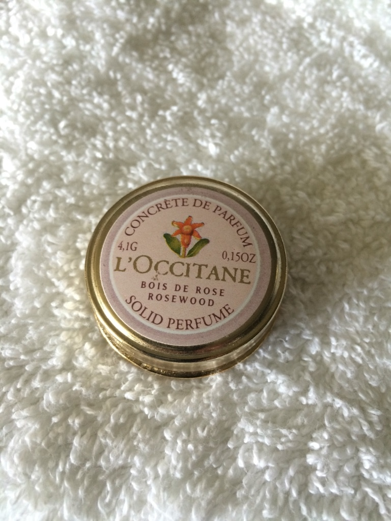 Used, gold plated l'occitane solid perfume for sale  Dale