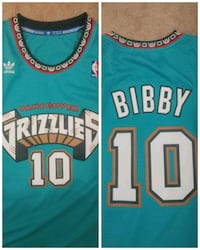 Vancouver Grizzlies Jersy