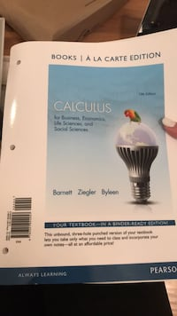 MAC2233-Business Calc College Textbook  Land O Lakes, 34639