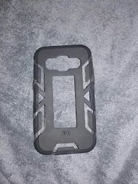 Black samsung galaxy prevail and prime case