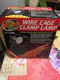 Wire cage clamp lamps reptiles Houma, 70363