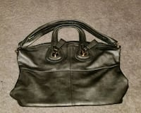 women's black leather shoulder bag Washington, 20004