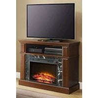 """41"""" Cherry Media Fireplace for TVs up to 50"""" Houston, 77092"""