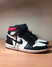 "Air jordan 1  ""Not For Resale"" Varsity Red"