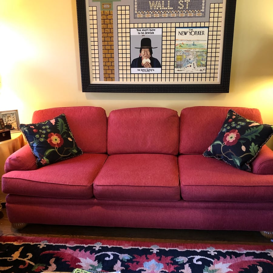 Matching sofa and love seat