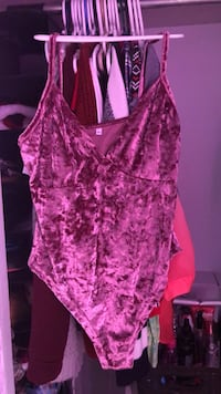 women's pink and purple floral sleeveless top Halifax, B3P 2T9