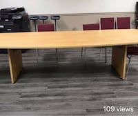 10ft by 4ft Conference Table  White Plains, 20695