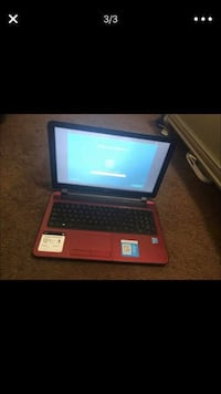 Black and red laptop computer Burbank, 91505