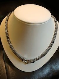 Brand New sterling silver Necklace and Bracelet $60 Rockville, 20852