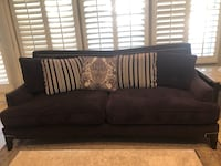 Over sized sofa, deep purple color with side bolts as design Las Vegas, 89128