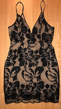 Black/tan dress size m Toronto, M3B 2W5