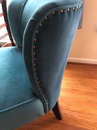 2 Turquoise blue upholstery chairs Manassas, 20110
